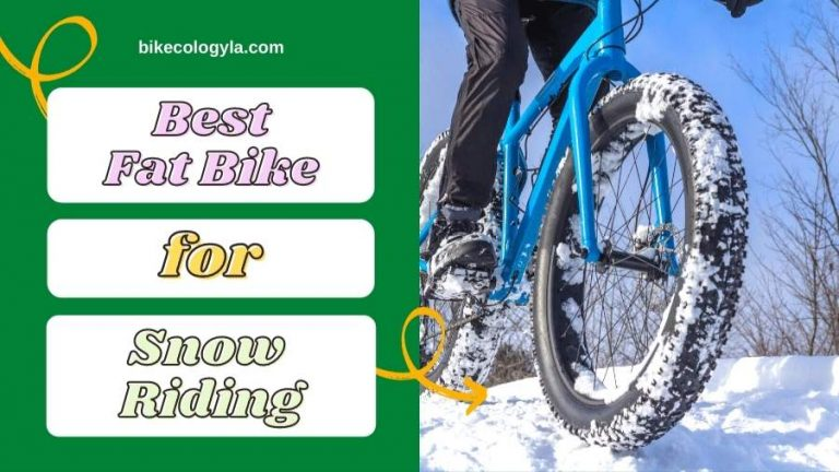 Best Fat Bike For Snow Riding