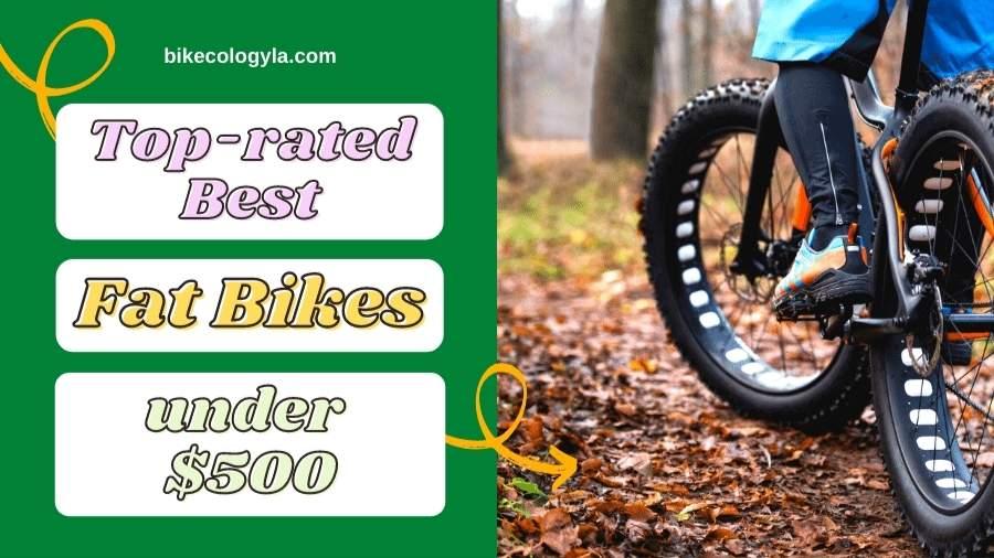 9 Best Fat Bikes Under 500